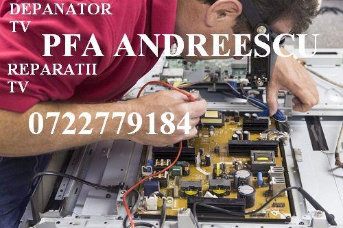 PFA Andreescu Depanator TV cu reparații LED SMART TV București