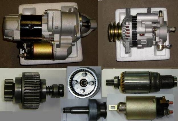 Ремонт стартеров, генераторов, моторчиков печки 12-24 V Качество.