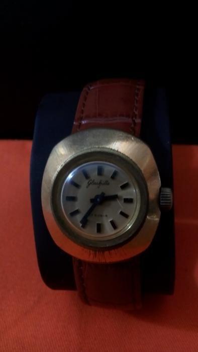 Ceas dama mecanic GUB Glashutte, mecanic, vintage, 9/10, anii 65
