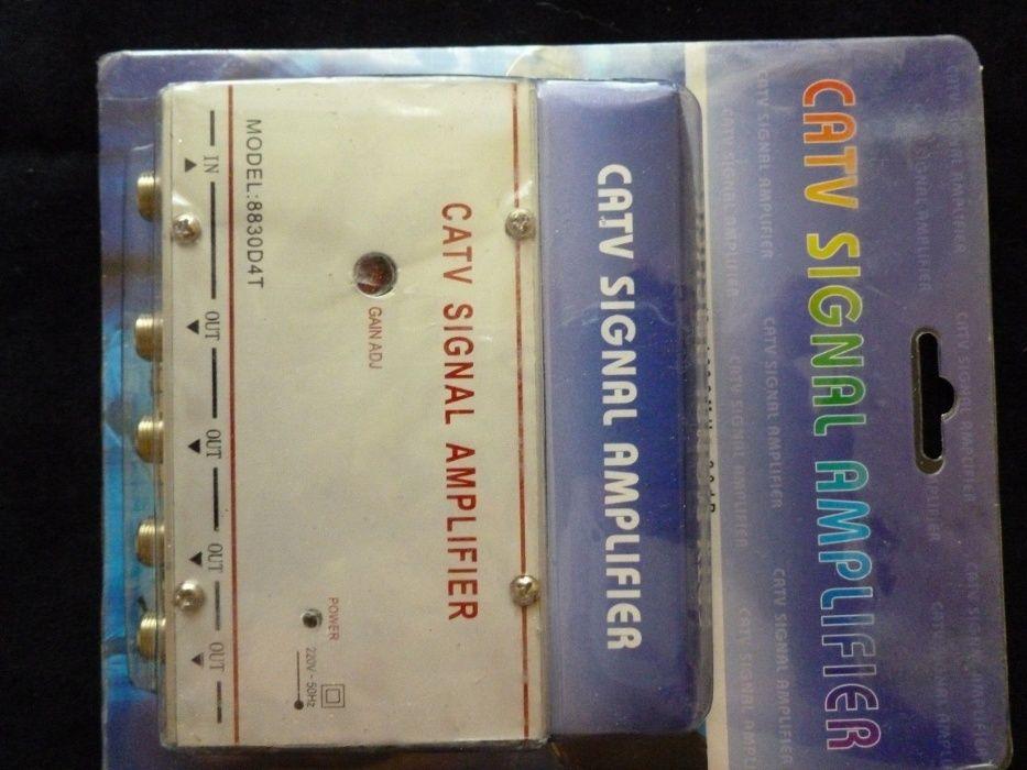 amplificator de semnal philips pt cablu sau antena,ramburs