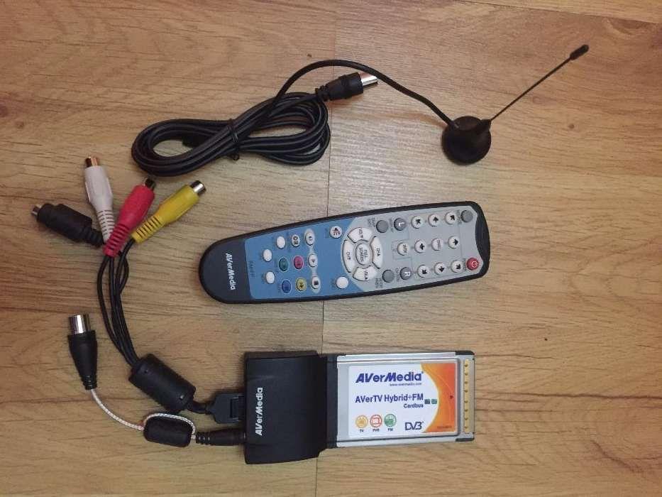 Avermedia tuner tv/fm (transforma laptop-ul in TV sau placa de editare