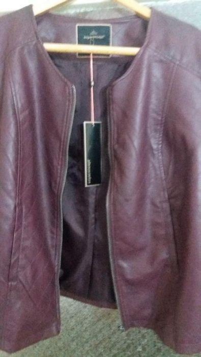 Дамско яке еко кожа чисто ново !