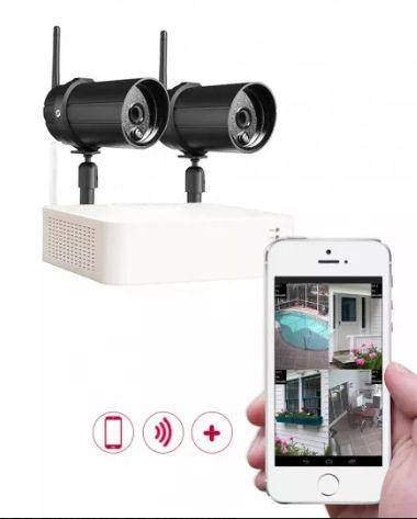 montagem de Cameras de vigilancia com acesso remoto