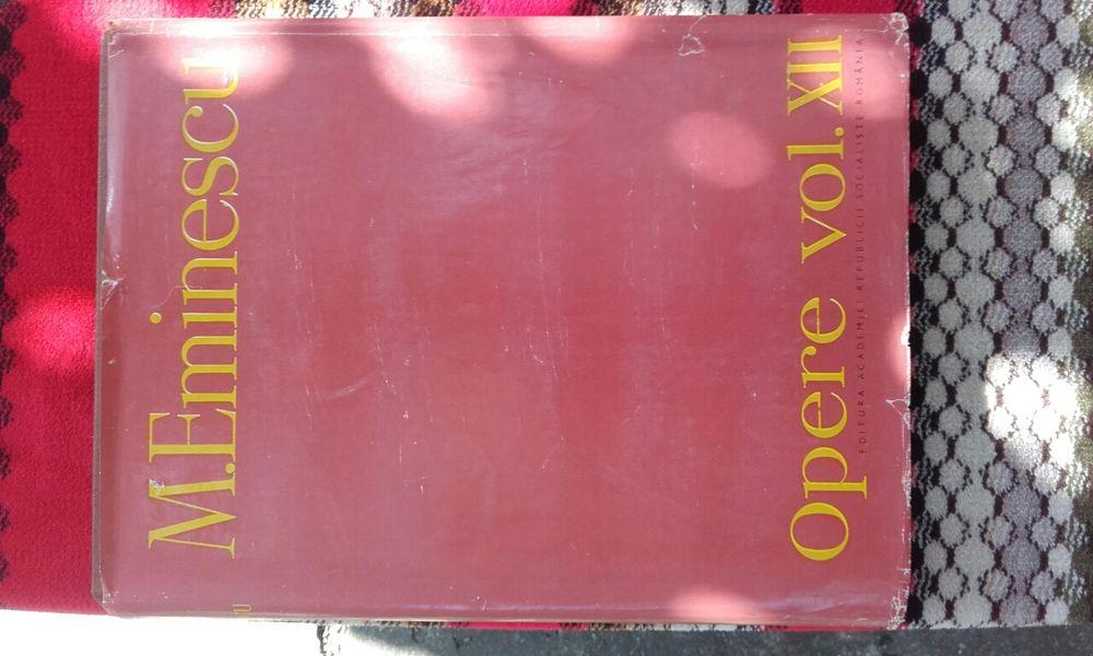 M. Eminescu - Opere vol. XII