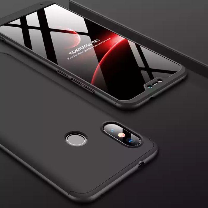 Кейс 360° градуса мат за Xiaomi Mi A2 / Xiaomi Mi A2 Lite + протектор