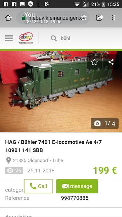 Motor Buhler locomotiva cu angrenaj,NOu!