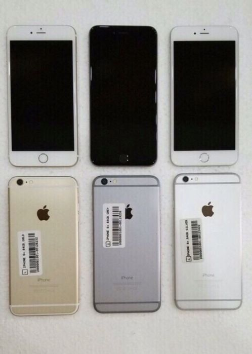 iPhone 6 Plus 64gb fora da caixa super novos