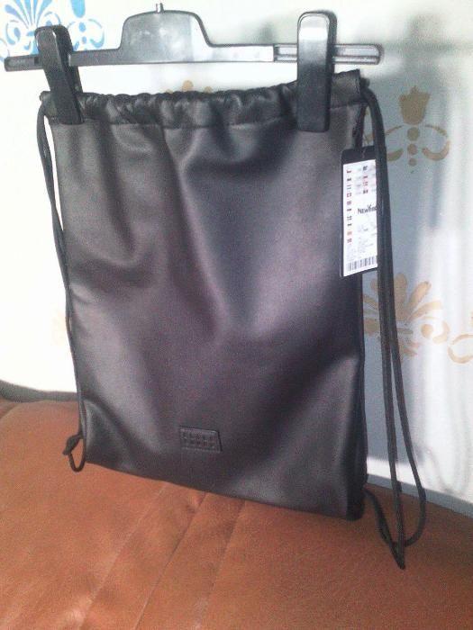 Backpack trendy (sac) Black squad New Yorker Nou Din piele ecologica