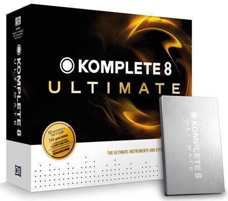 Native Instruments Komplete 8 Ultimate Virtual Instrument/Plug-in MAC