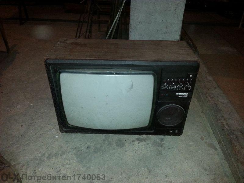 Телевизор Електрон Ц382дб - Работещ