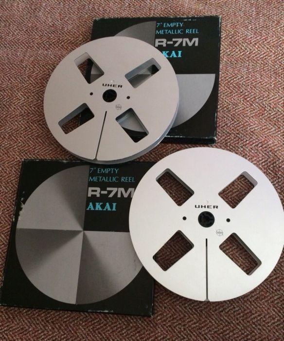 Rola magnetofon Uher metalica ptr Akai 18 cm