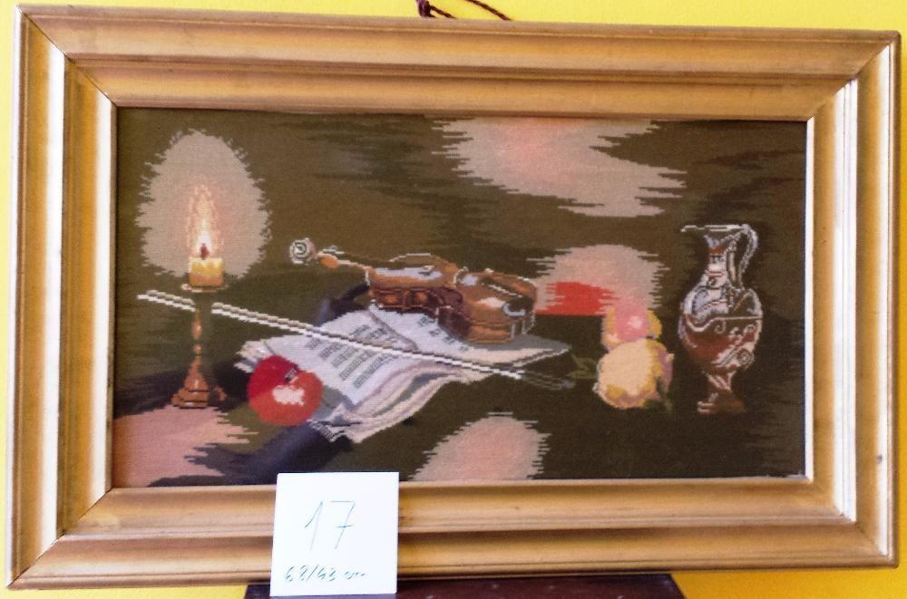 Tablou pictura - Goblen - Vioara