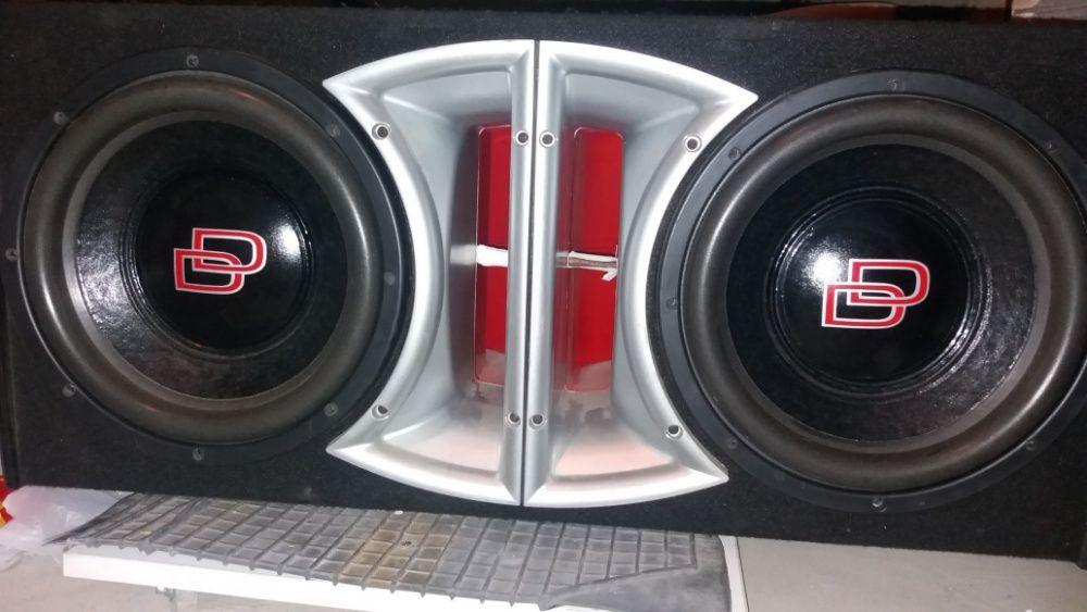 Bass auto DD 1512 - 1800W