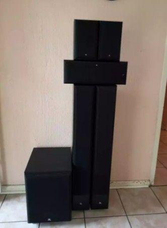 Jogo De 6-Colunas Marca Floorstanding -1 Suwoobufer Amplificada-2 Pila