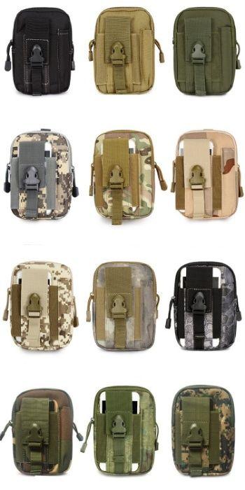 Borseta curea Militar Molle Army Airsoft camouflage rucsac geanta