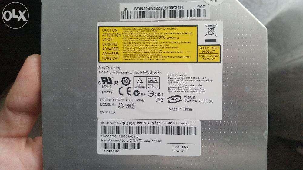 DVD-RW laptop