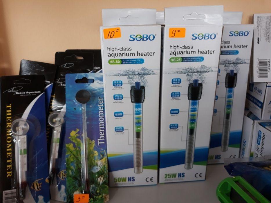 Нагреватели и термометри за аквариуми