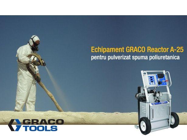 Utilaj GRACO Reactor A-25 pentru izolatii cu spuma poliuretanica