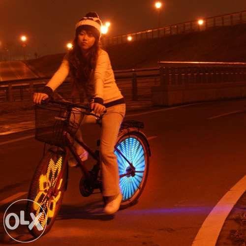 Anvii Wheel Lights - Тюнинг для велосипеда (Эксклюзивно) в Алматы