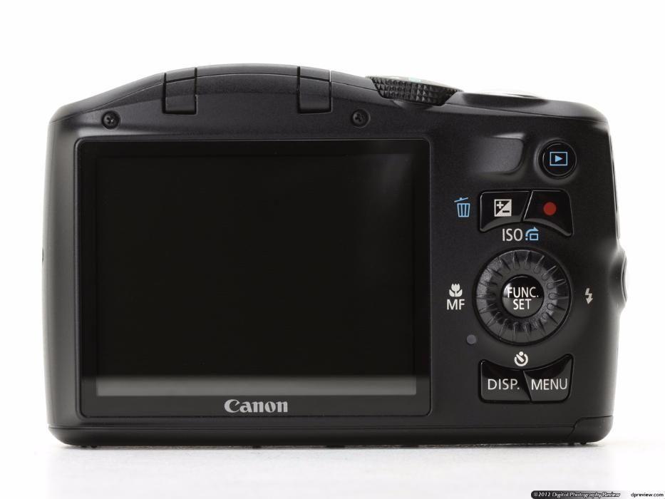 Vand aparat foto Canon SX150 IS negru - 14Mpx, 12x zoom, 28mm wide