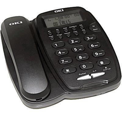 Telefono Analogico 3130IS core preto, Marca OKI