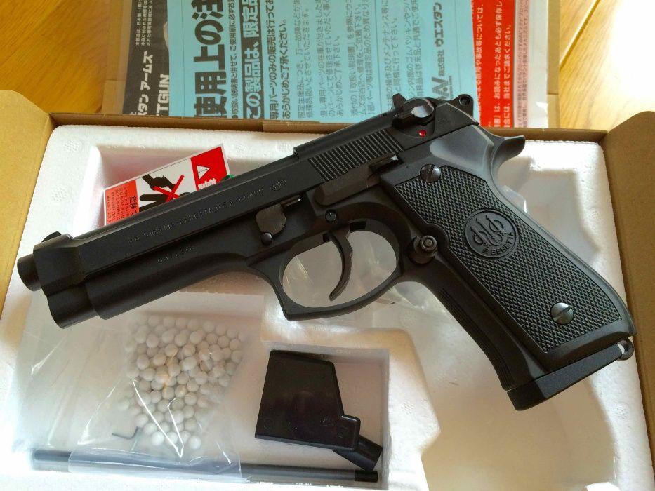 PUTERE MARITA-Pistol Airsoft Beretta/Taurus METAL F.Puternic Co2 4.1J