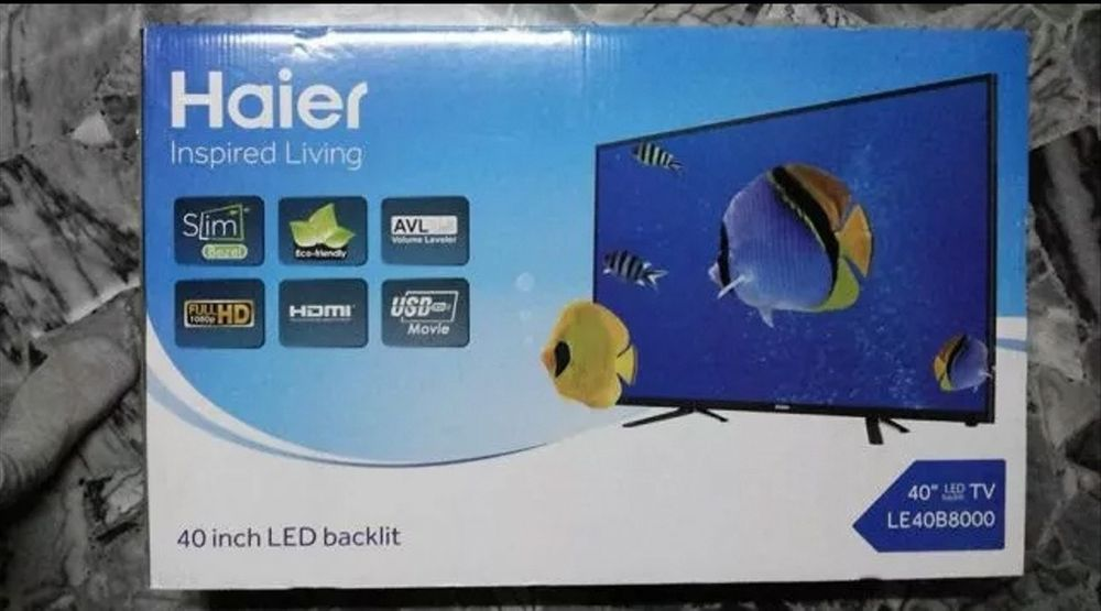 Promoção : Haier Tv 40'' selados !