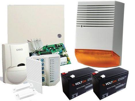 Sistem de alarma DSC +instalare