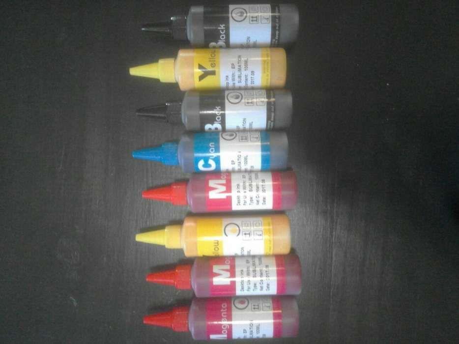 Vende se tintas de Sublimação