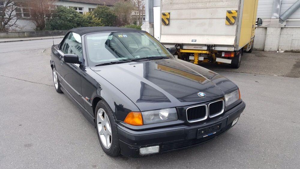 Швейцарска!!! БМВ е36 кабрио BMW e36 convertible