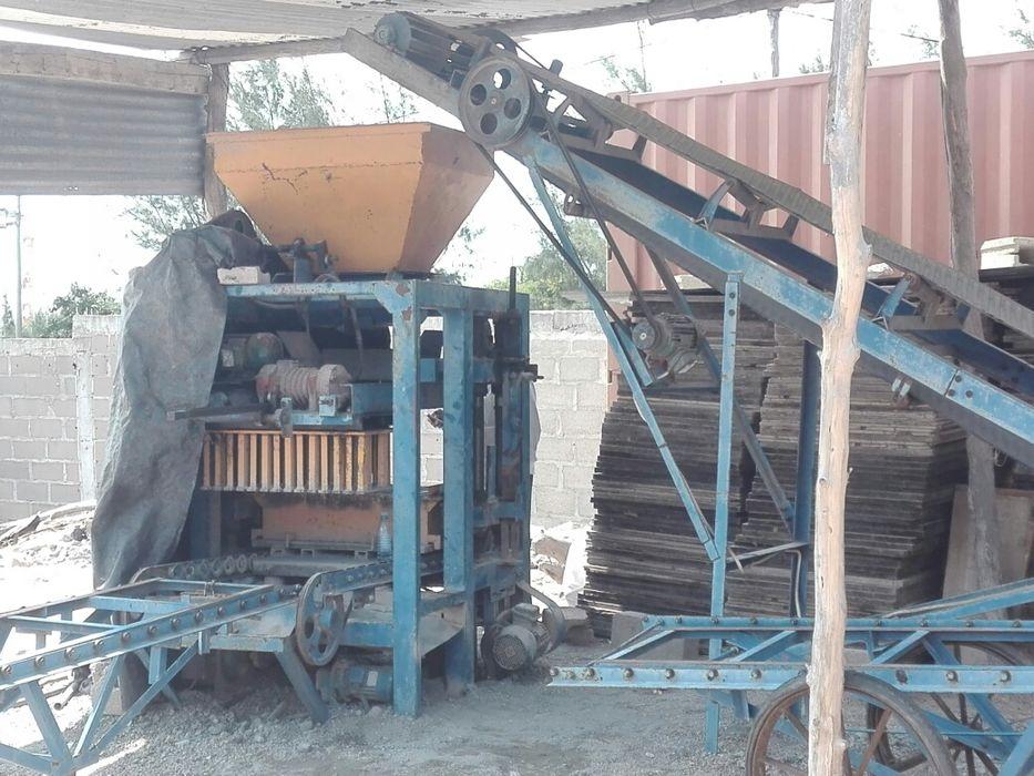 Maquina de Fabricar Blocos e Lancis