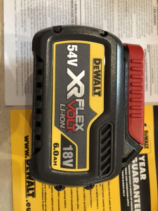 DEWALT dcb 546 baterie 18-54v si 6 ah, NOUA 2018
