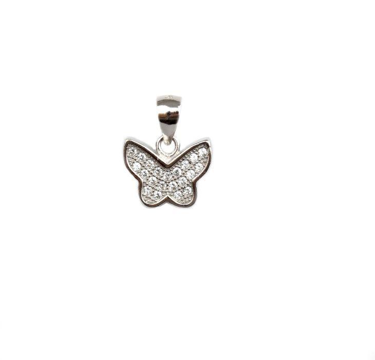 Pandant argint fluture - DA102