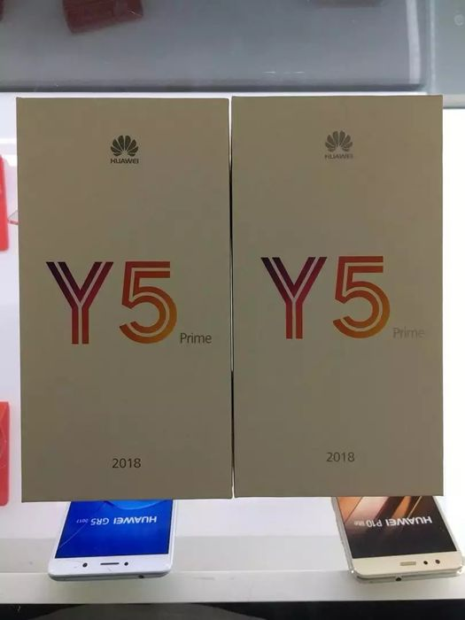 Huawei Y5 Prime 2018 selado na caixa