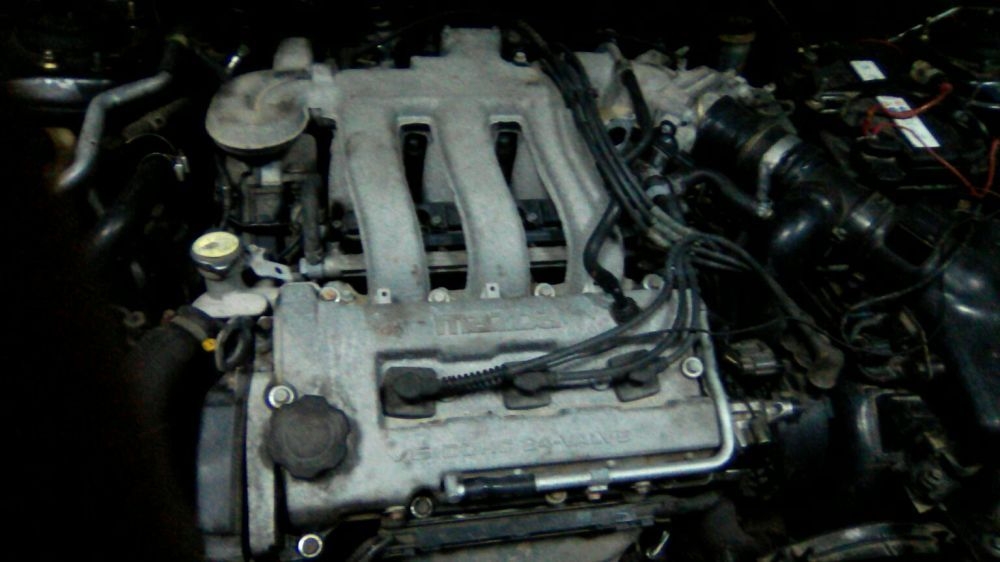 Продавам на части двигател V6 2.0- 144 коня от Мазда 323 F(BA),Xedos