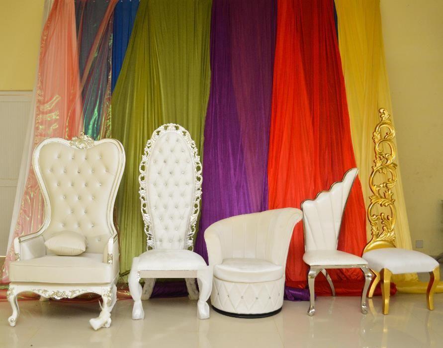 Aluguer de Cadeiras de Noivos