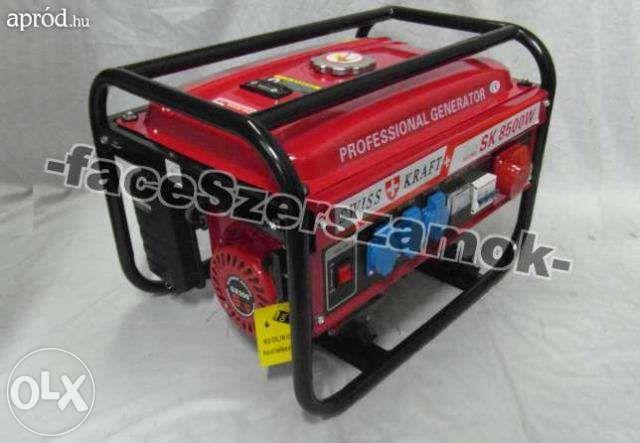 Generator swiss line kraft 6500w model 2016 Reghin - imagine 1