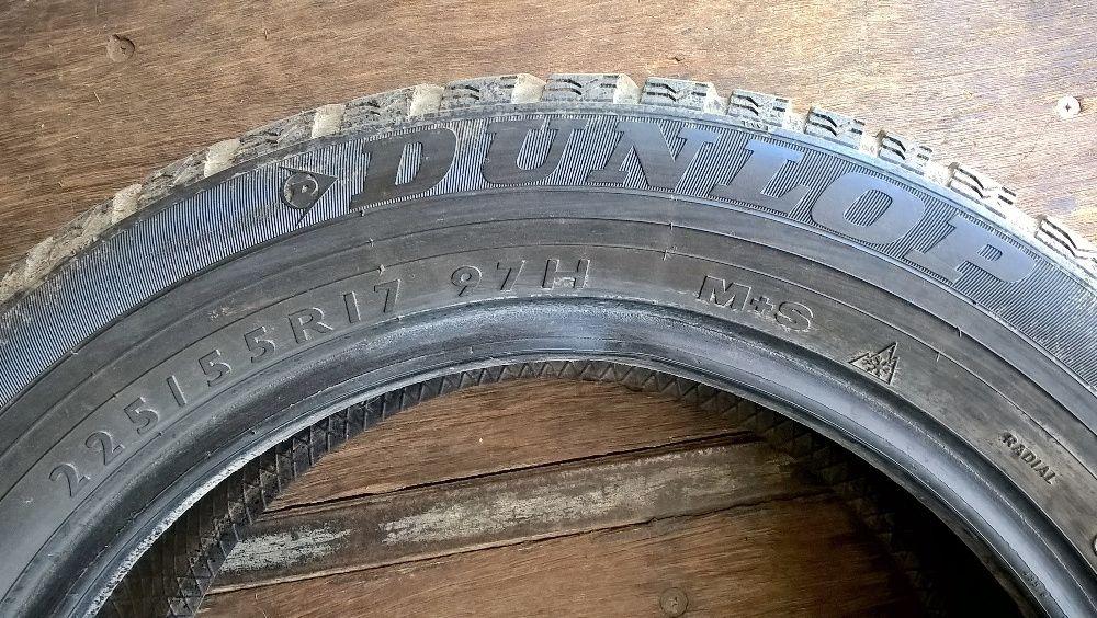 Зимние шины Dunlop SP Winter Sport M3 (225/55 R17 - 2шт. б/у)