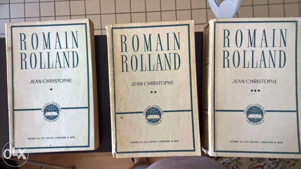 Romain Rolland - Jean Christophe, 3 vol.