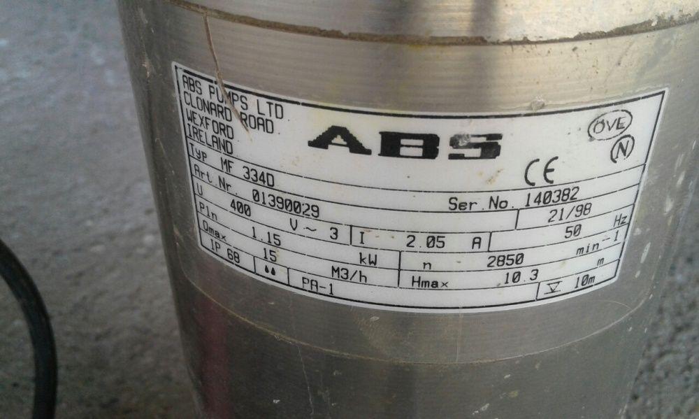 Pompa submersibila trifazata ABS