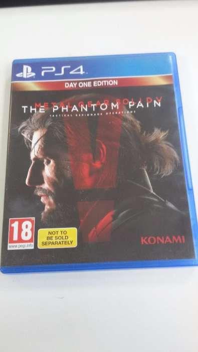 Metal Gear Solid 5 - Phantom Pain . PS4