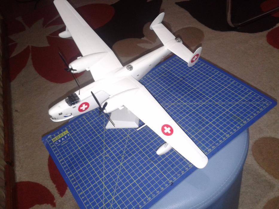 Macheta avion Be-6