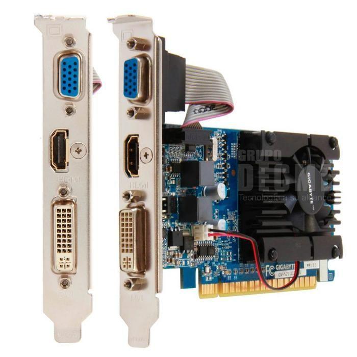 Placa Grafica Nvidia GT 210 1GB DDR3/64bit/PCI-E 2.0