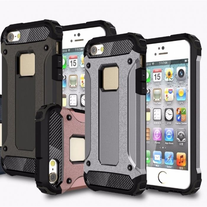 Удароустойчив Кейс Spigen за Iphone 5 / 5S / SE / 6 6S / 7 / 7+ / 8 X