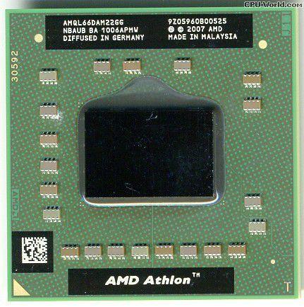 Procesor Laptop AMD Athlon 64 X2 QL-66