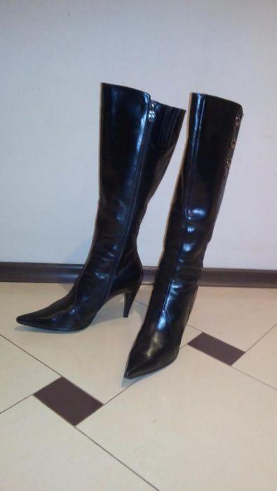 Дамски ботуши от естествена кожа