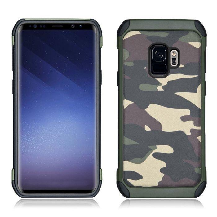Камуфлажен кейс калъф за Samsung Galaxy S9, S9 Plus, +, A8 2018
