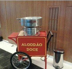 Maquina de algodão doce a venda