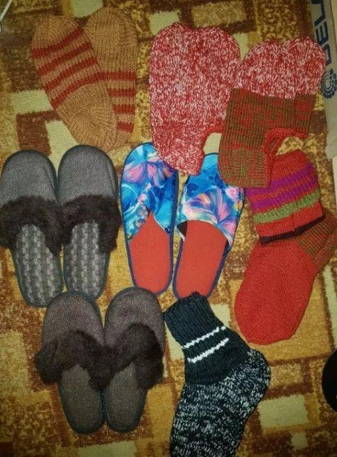 Новые носки тапочки