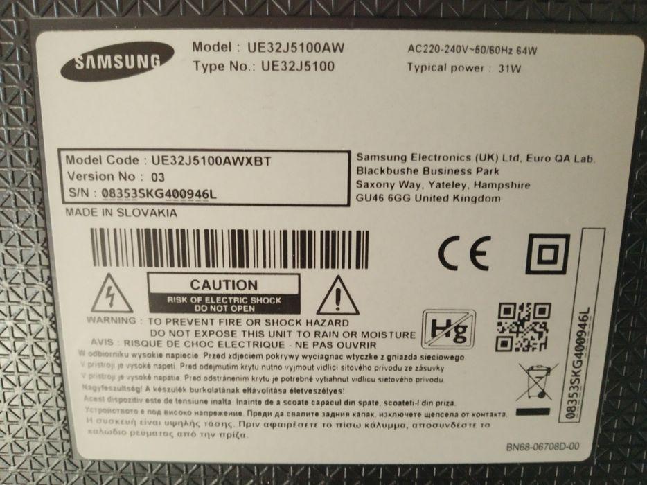 """32"""" Samsung HD led tv UE32J5100AW на части или цял"""
